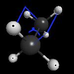 エタンの二面角
